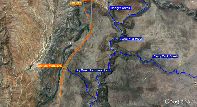 Canyoneering Slot Canyons Auga Fria River Canyon Arizona
